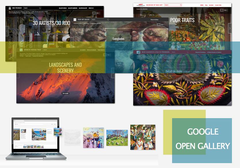 Una galer a virtual para crear exposiciones a la carta for Que es una pagina virtual